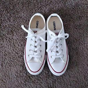 White Converse ✨
